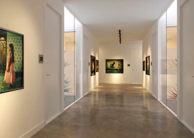Polished Concrete Corridor Brisbane