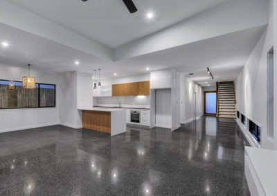 Polished concrete brisbane ozgrind
