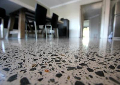 Wynnum MPC  Polished concrete ozgrind residentail flooring brisbane gold coast