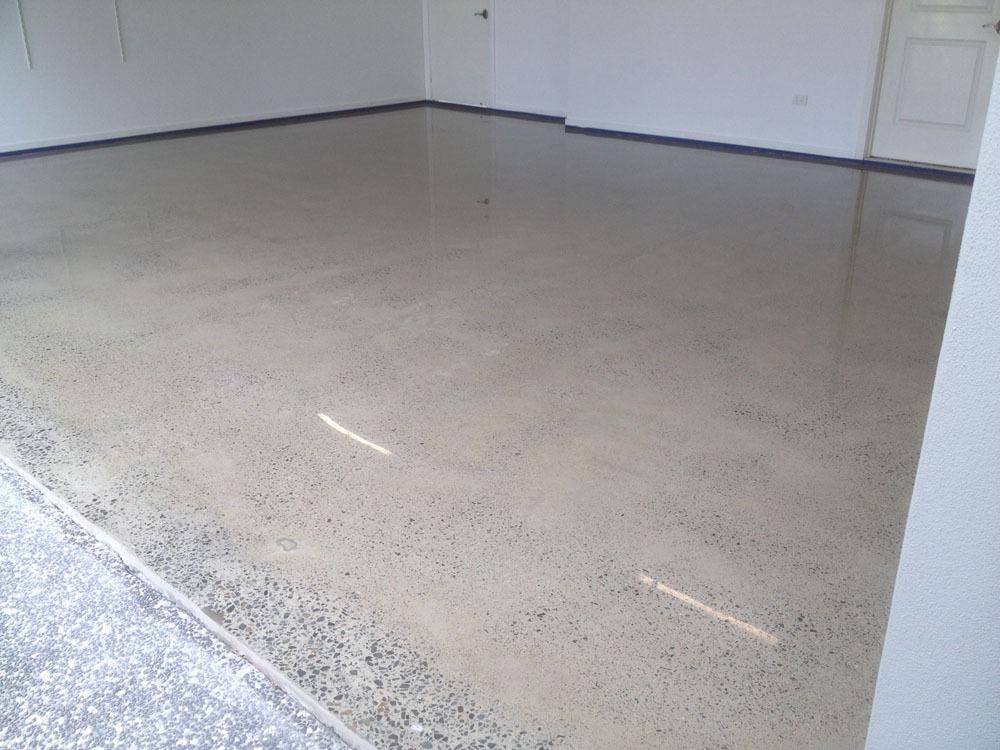 Ozgrind Polished Concrete Garage Flooring