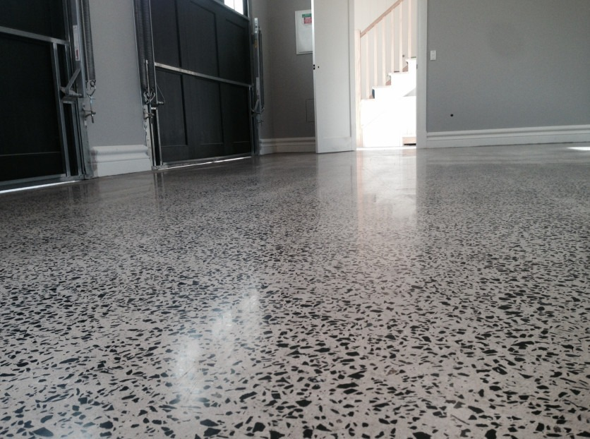 Amazing Garage Flooring Polished Concrete OzGrind Polished Concrete Brisbane