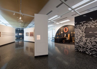polished concrete art gallery ozgrind commercial flooring