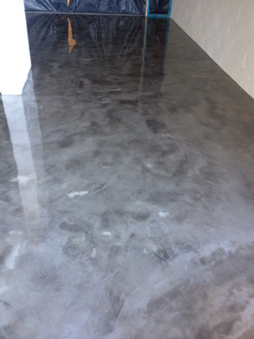 Concrete floor finishes american hwy for Floor wax for concrete floors
