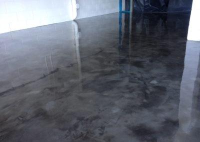 Feather Finish Concrete Flooring Ozgrind Polished