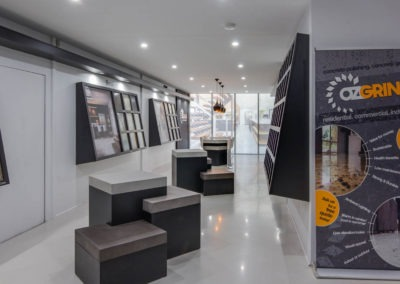 Polished Concrete showroom brisbane