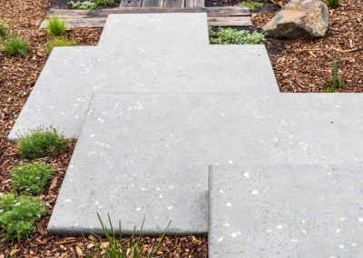 honed concrete pavers outdoor flooring ozgrind