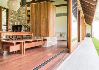 outdoor concrete finish honed flooring ozgrind brisbane