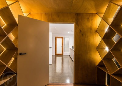 architectural home polished concrete
