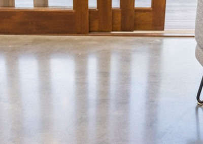 Gordon Park House Mechanically Polished Concrete Nil Exposure Matte 3