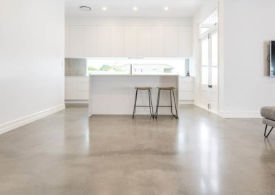 Gordon Park House Mechanically Polished Concrete Nil Exposure Matte 7